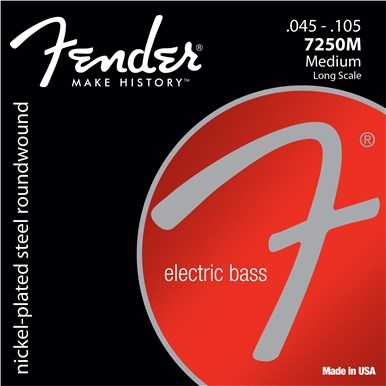 Fender 7250 BASS STRINGS - .045-.105