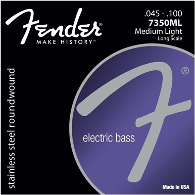 Fender 7350 STAINLESS BASS STRINGS - .045-.100
