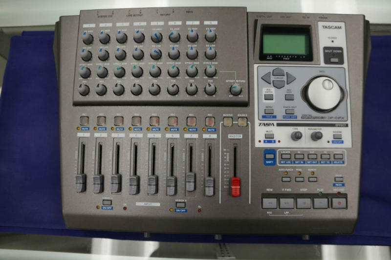 Tascam DP01FX Digital Recorder