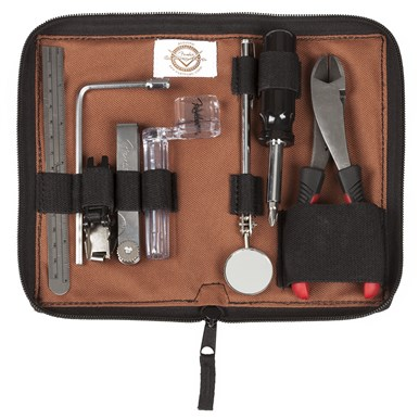 FENDER® CUSTOM SHOP TOOL KIT BY CRUZTOOLS® - Brown