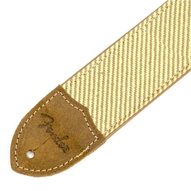 Fender® Deluxe 2 Inch Tweed Guitar Strap - Tan