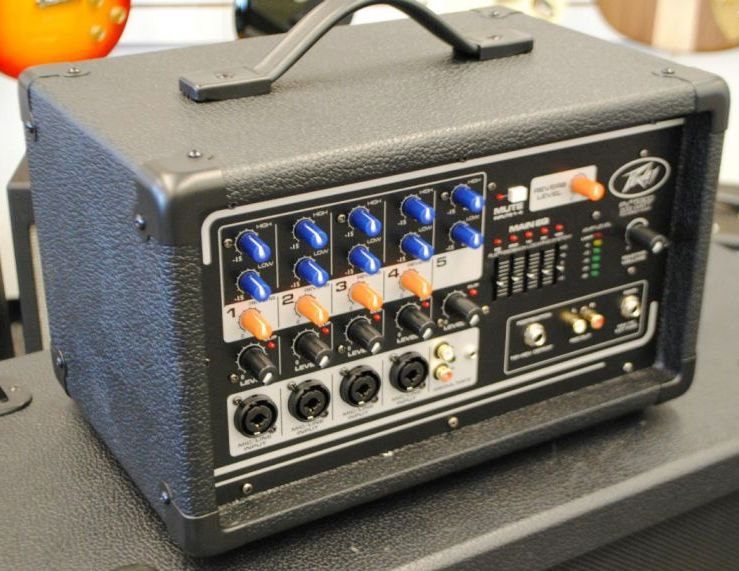 Peavey PV 5300 5-Channel Powered Mixer [Lightly Used]