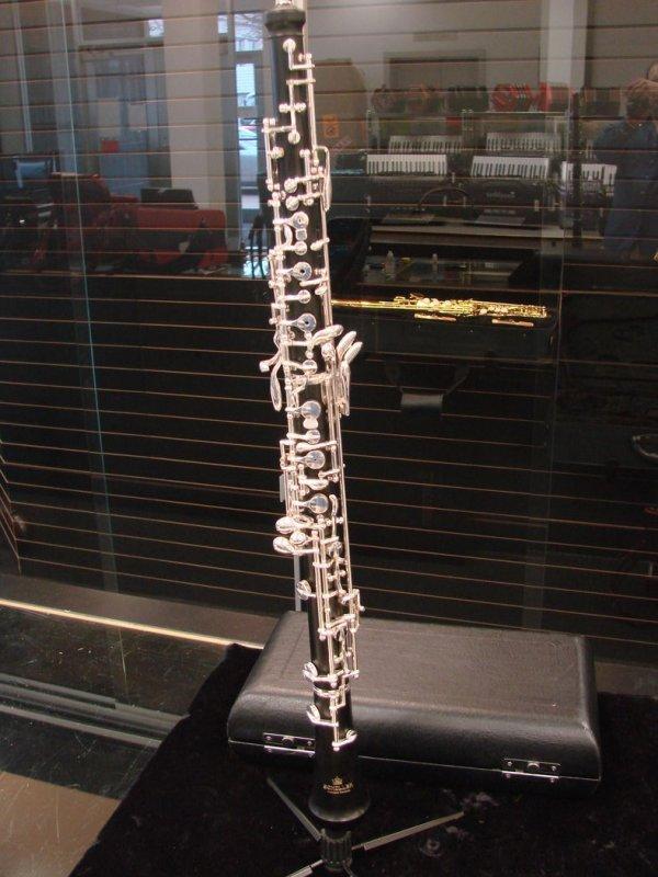 Schiller Grenadilla Wood Conservatory Oboe - Floor Model