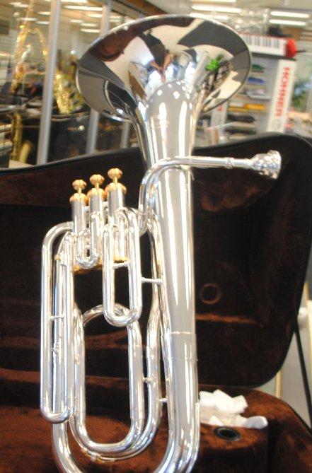Schiller Baritone Horn Silver Plated/Gold