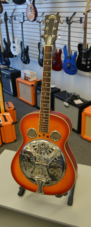 Highland Resonator Guitar Biscuit Style