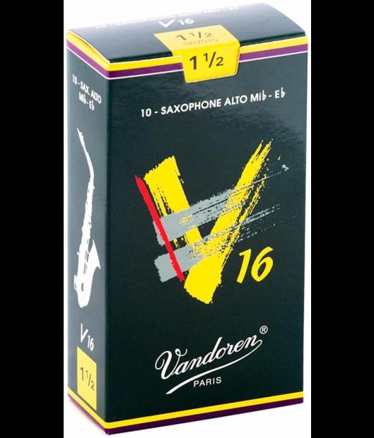 Vandoren Alto Sax V16 Reeds - Box of 10