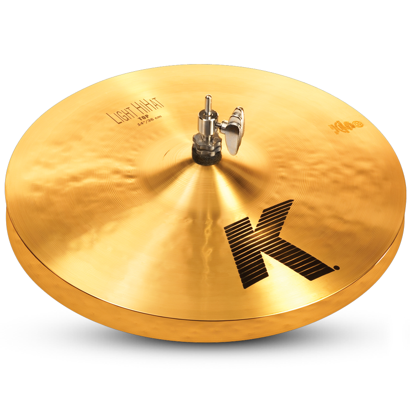 "Zildjian 14"" K Light HiHat - Top"