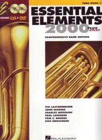 Essential Elements 2000 Tuba Book CD/DVD