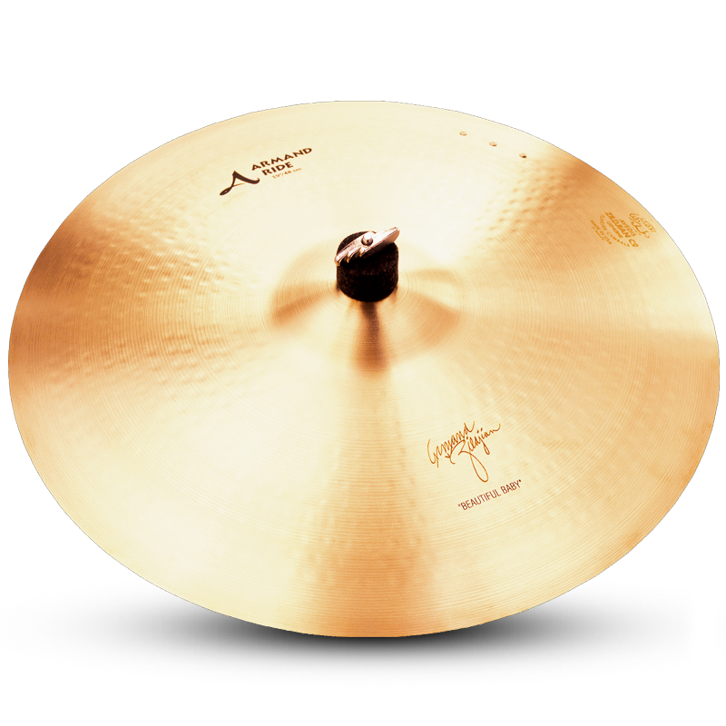 "Zildjian 19"" A Zildjian Armand Zildjian Beautiful Baby Ride"