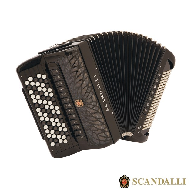 Scandalli Air IV C 120 Bass Chromatic Accordion