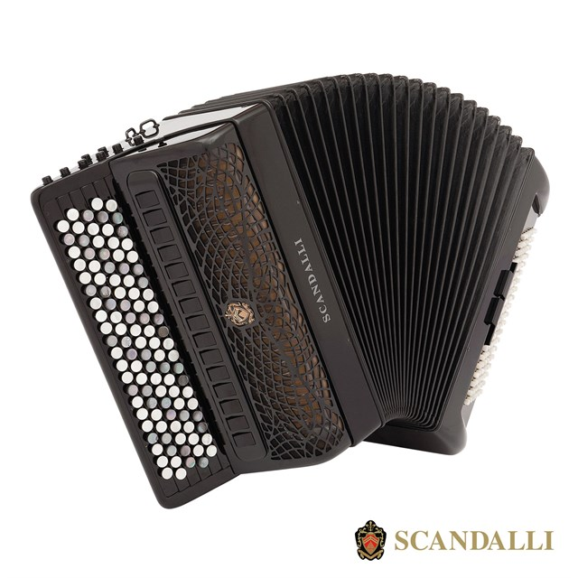 Scandalli Extreme C 120 Bass Chromatic Accordion