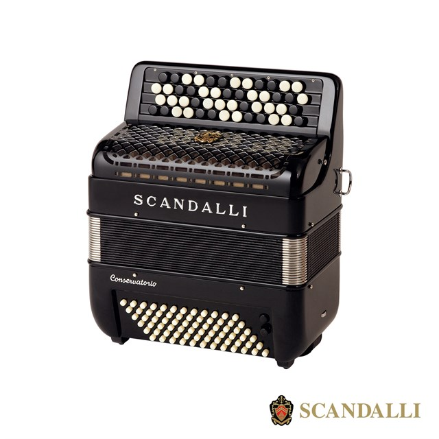 Scandalli C111 72 Bass Chromatic Accordion