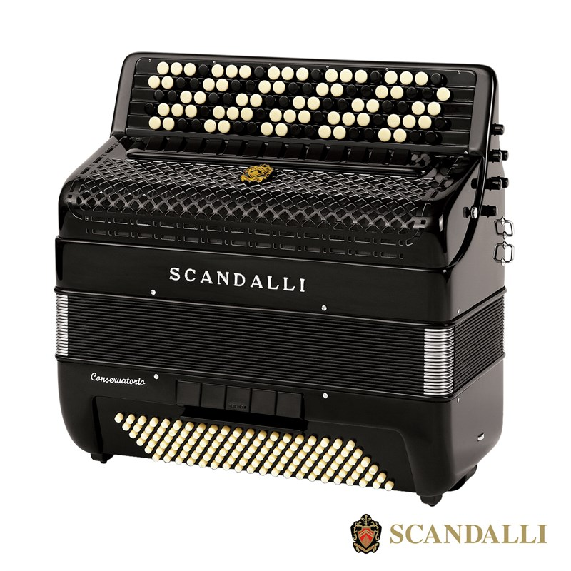 Scandalli BJC 473 120 Bass Chromatic Accordion