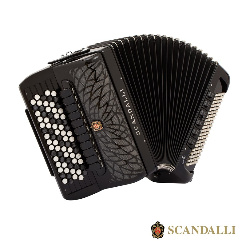 Scandalli Air VI C 120 Bass Chromatic Accordion