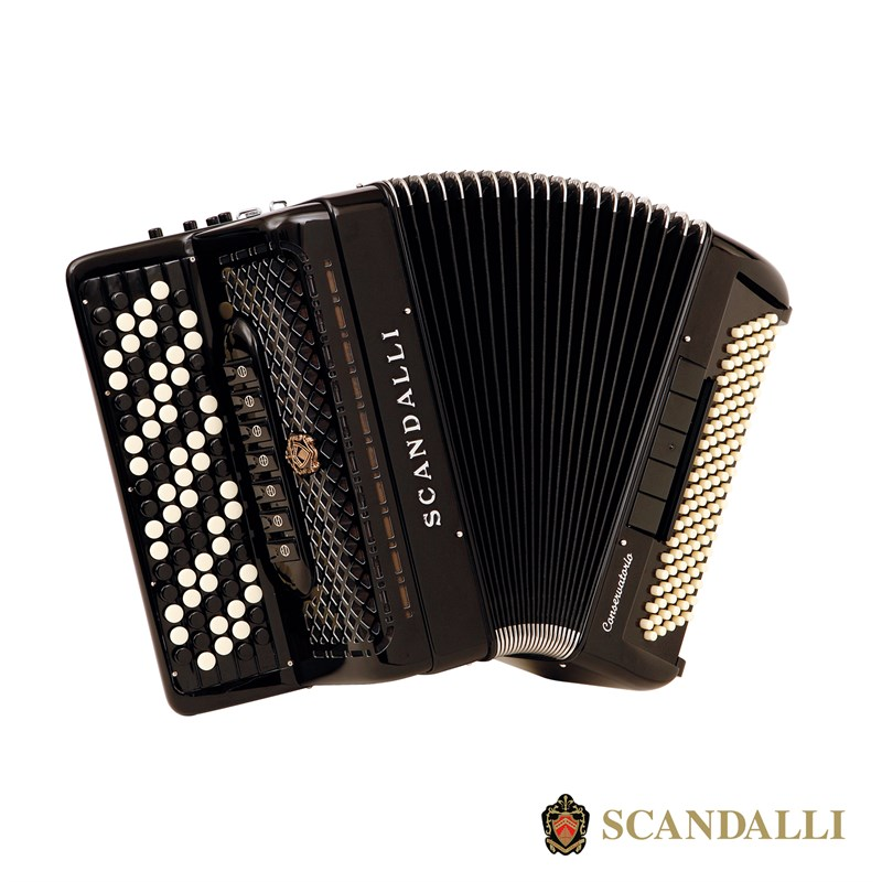 Scandalli C342 118 Bass Chromatic Accordion