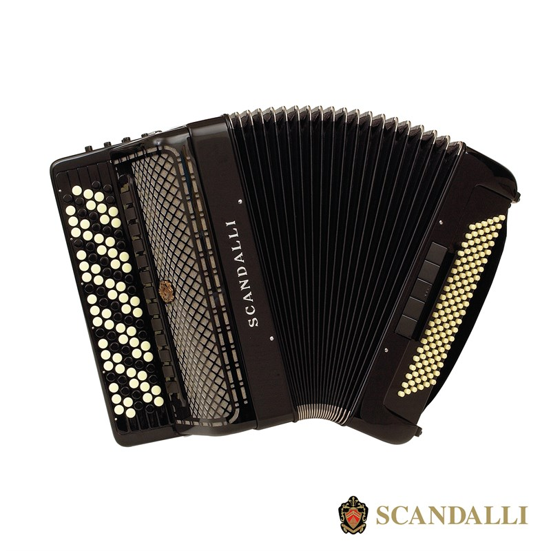 Scandalli C442 120 Bass Chromatic Accordion
