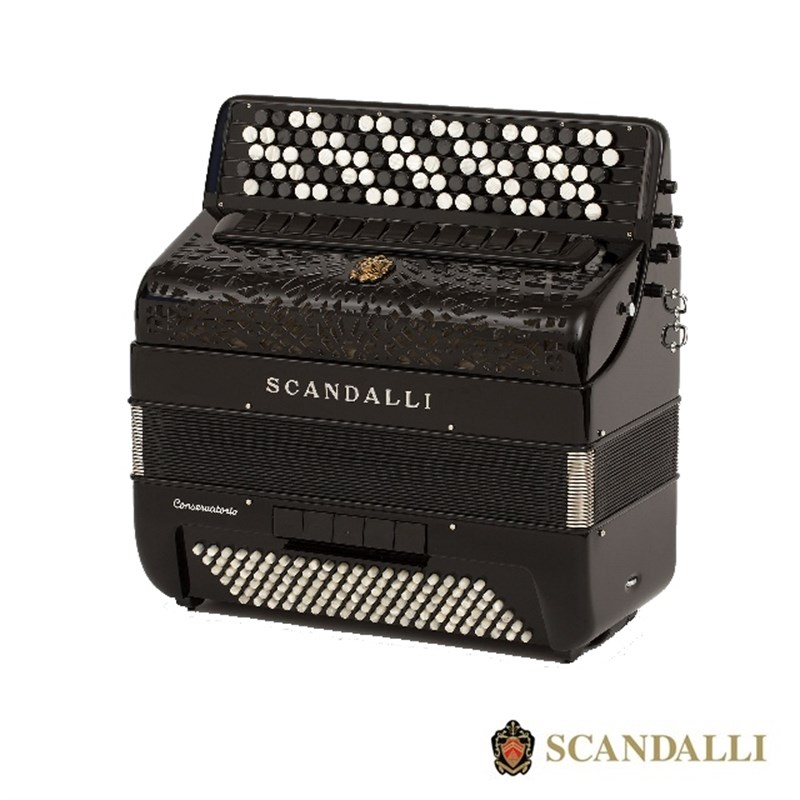 Scandalli BJC 442 Air 120 Bass Chromatic Accordion