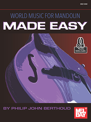 World Music for Mandolin Made Easy Book and Online Audio