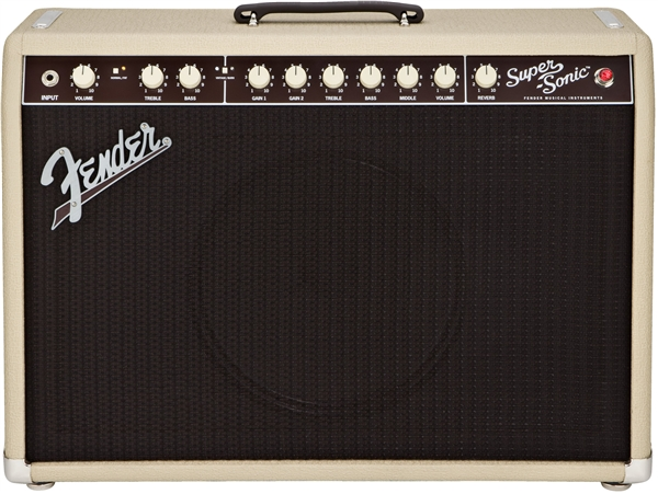 Fender Super-Sonic™ 22 Combo - Blonde and Oxblood