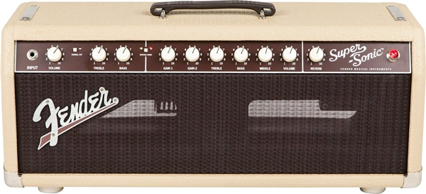 Fender Super-Sonic™ 22 Head - Blonde and Oxblood