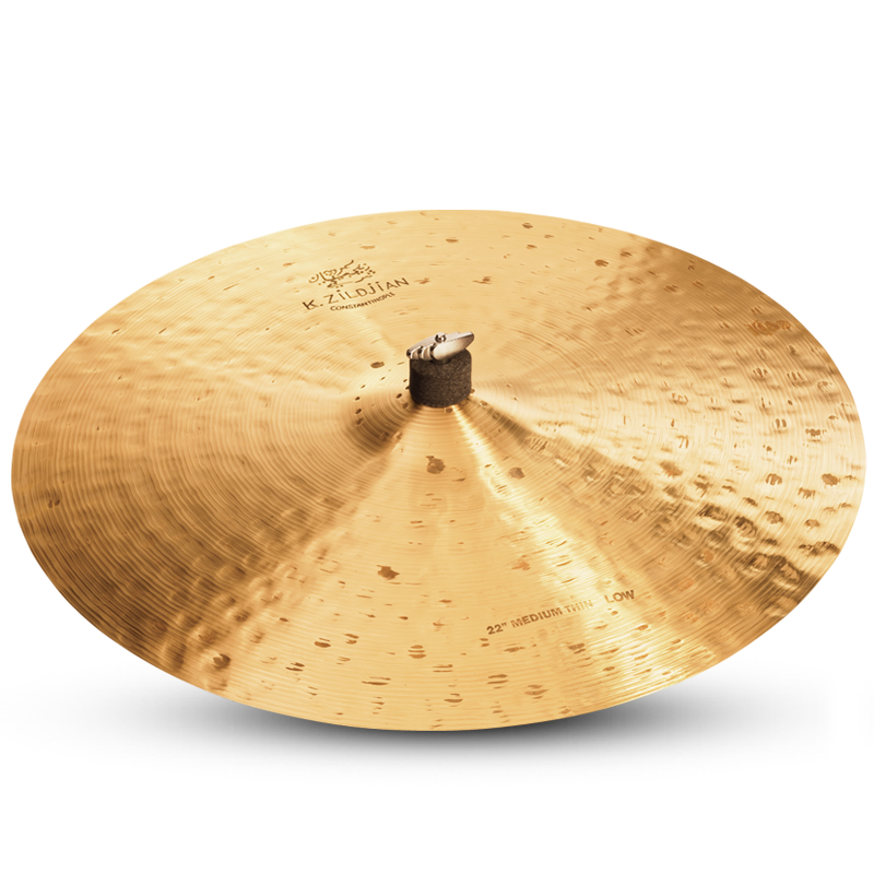 "Zildjian 22"" K Contantinople Medium Thin Ride - Low"