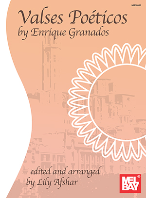 Valses Poeticos by Enrique Granados Book
