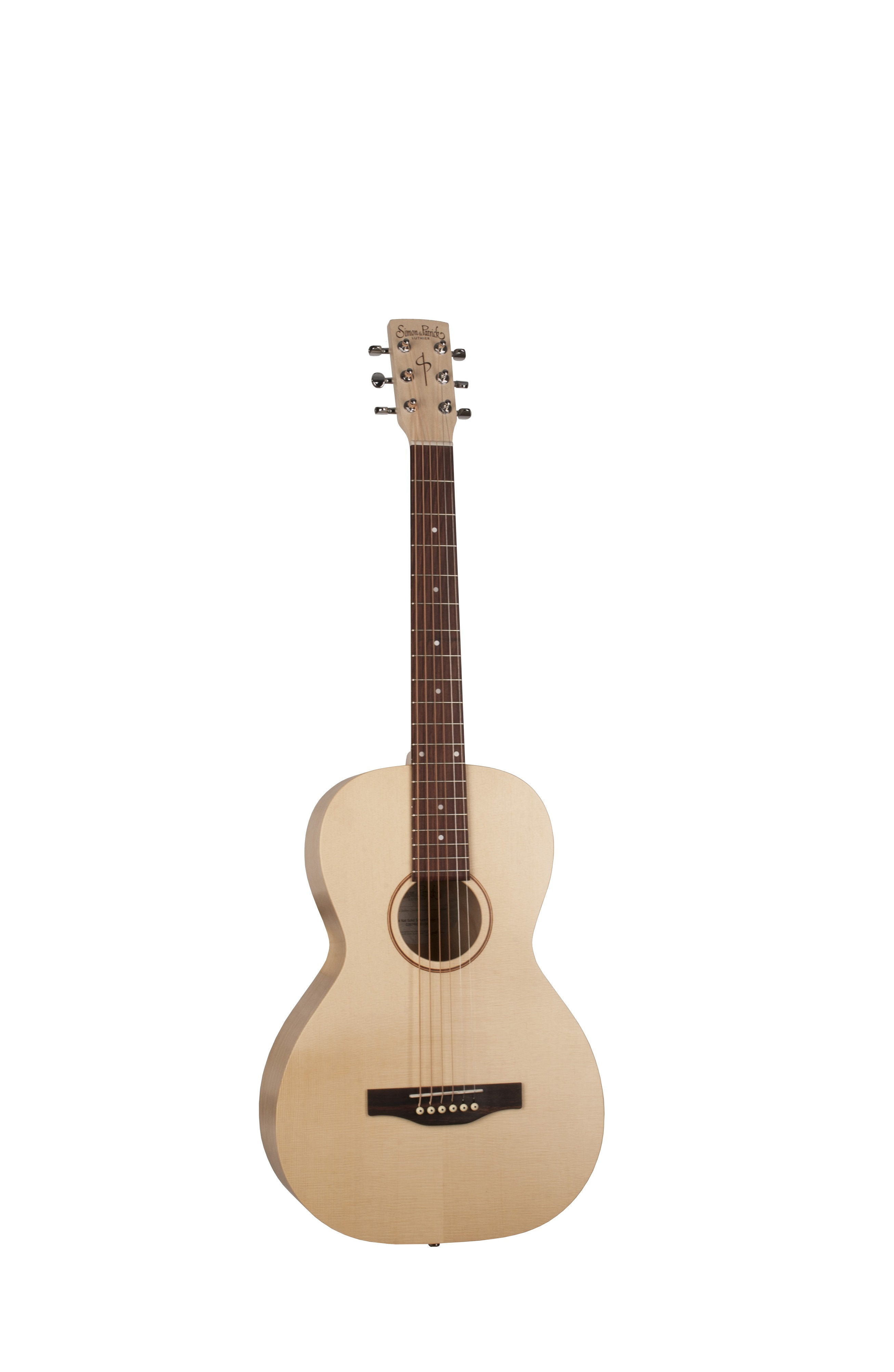 Simon & Patrick 39746 Trek Natural Spruce Parlor Acoustic Guitar