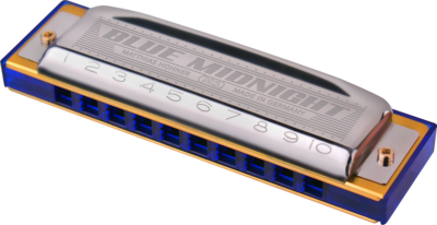 Hohner Blue Midnight MS Harmonica
