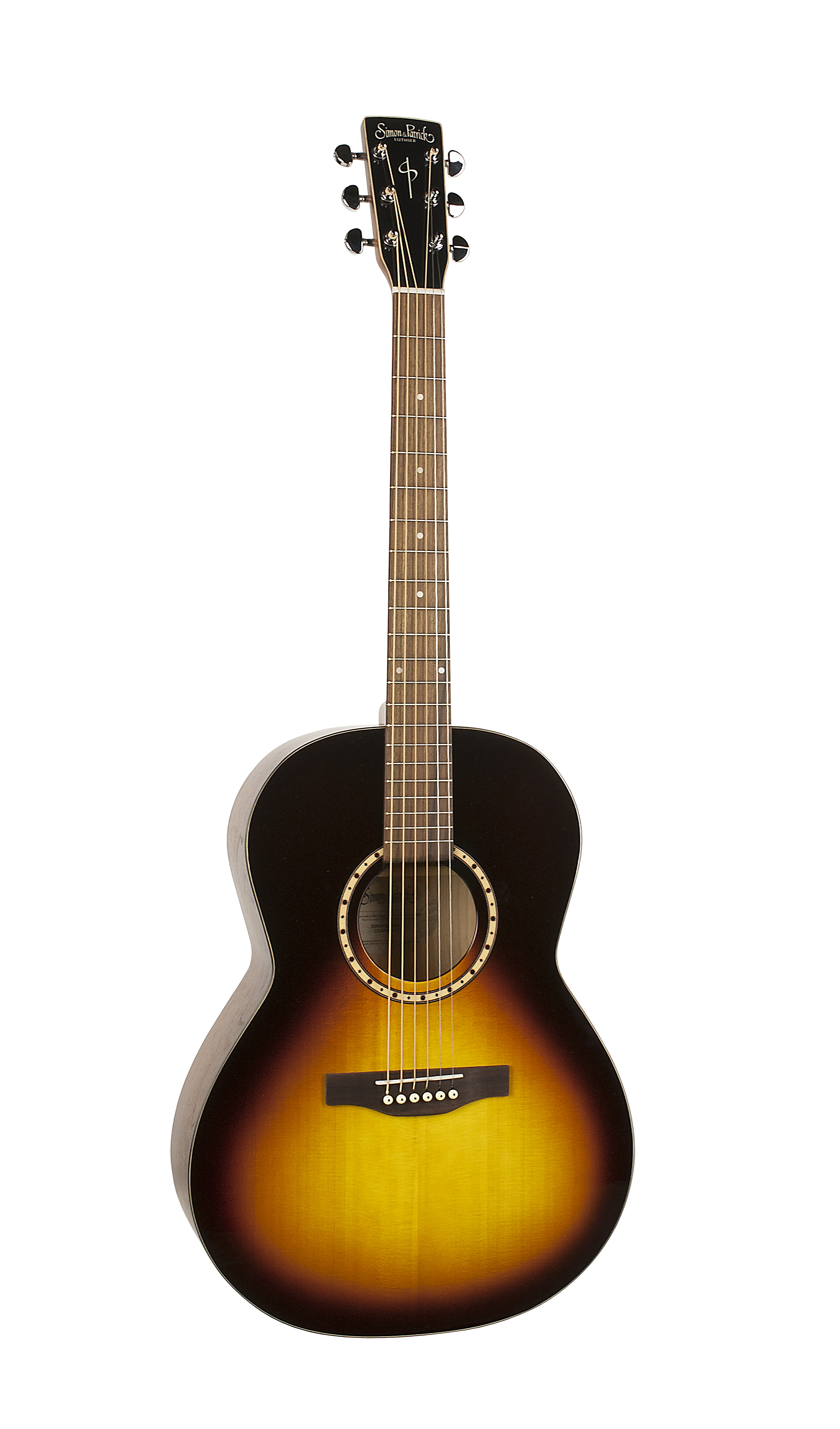 Simon & Patrick 40261 Songsmith Gloss Top Sunburst Folk Acoustic Guitar