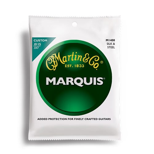 Martin M1400 Marquis Silk & Steel Acoustic Strings