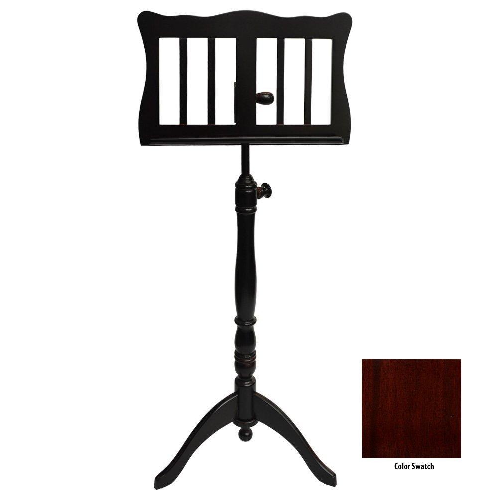 Frederick English Tutor Music Stand - Mahogany Polish