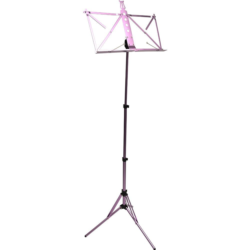 Frederick Grip & Go Music Stand - Aluminum (Andoized Purple)