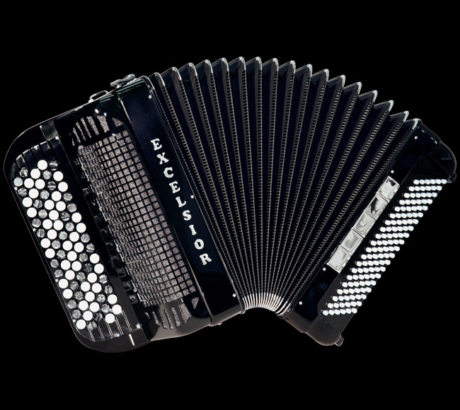 Excelsior 706 96 Bass Chromatic Accordion