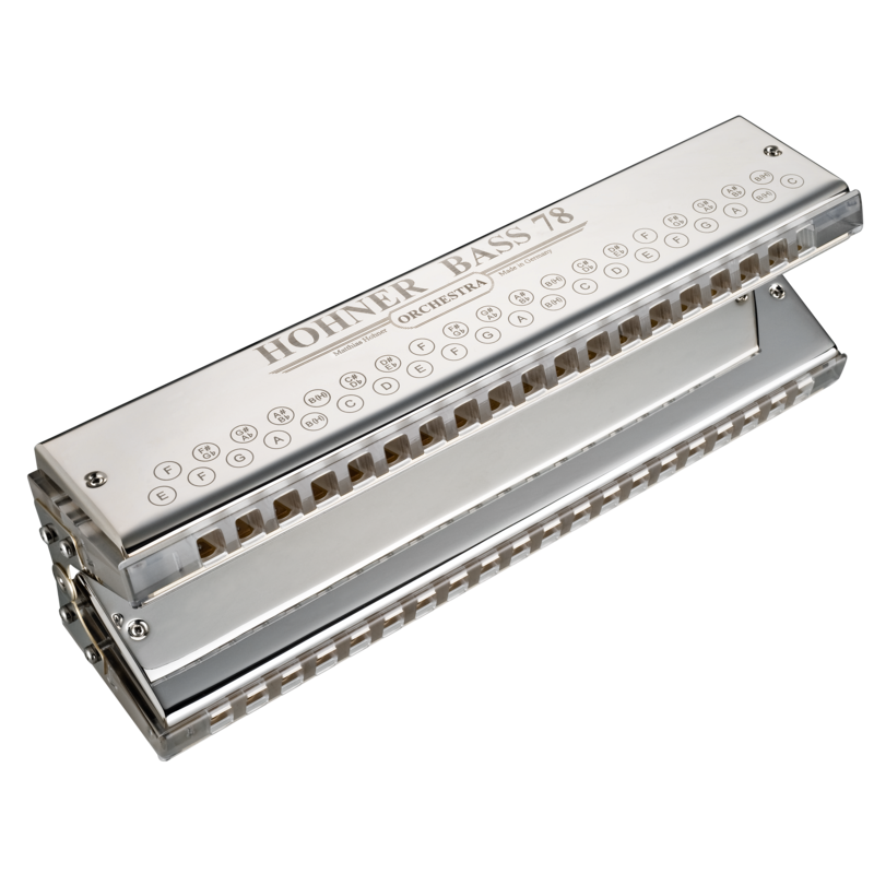 Hohner Orchestral Bass 78 Harmonica