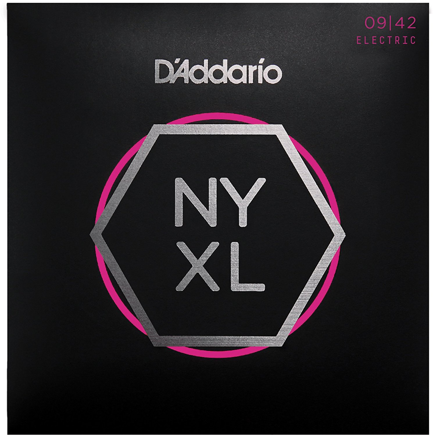 D Addario NYXL0942 Nickel Wound, Super Light, 09-42