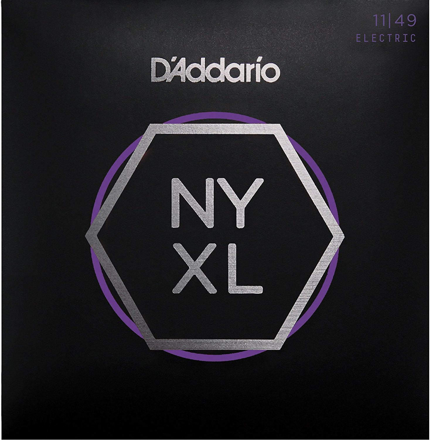 D Addario NYXL1149 Nickel Wound Electric Guitar Strings, Medium, 11-49