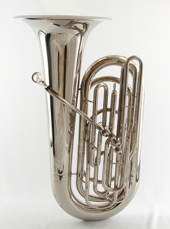 Schiller American Heritage 4 Valve Piston Nickel Tuba