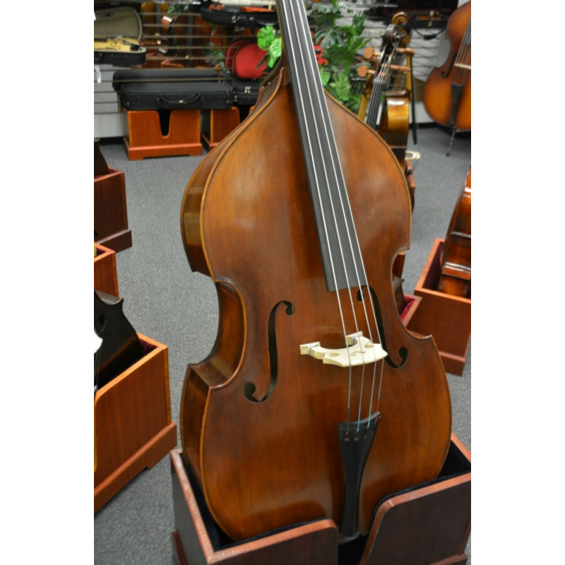 Vienna Strings Hamburg Professional 3/4 Bass with Adjustable Bridge