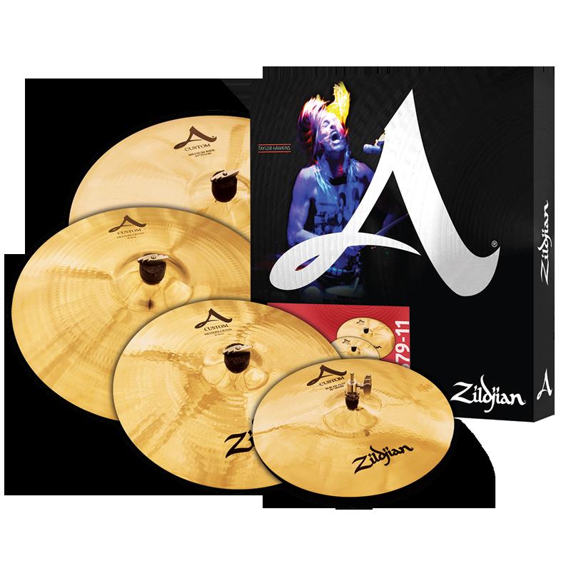 Zildjian A Custom Cymbal Set
