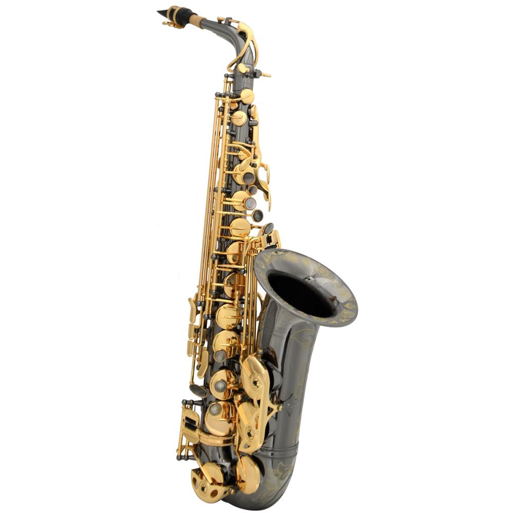 Schiller La Première Alto Saxophone - Black Nickel & Gold