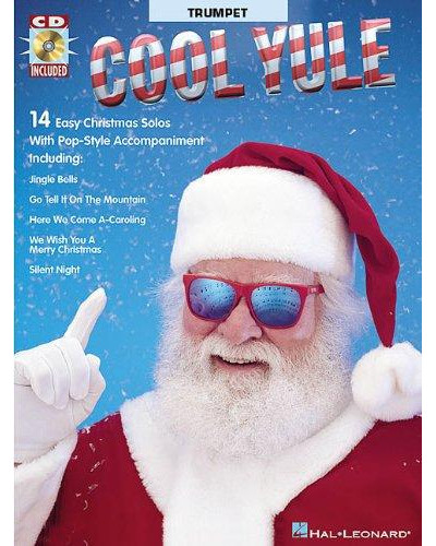 Cool Yule Playalong for Trumpet Book and CD