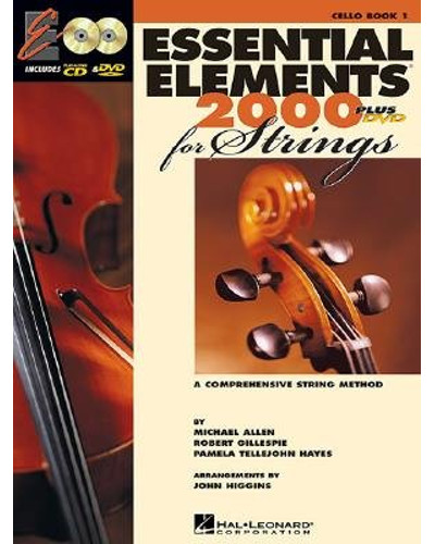 Essential Elements 2000 for Strings Cello Book I CD/DVD
