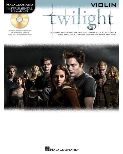 Twilight Instrumental Playalong for Violin Book and CD