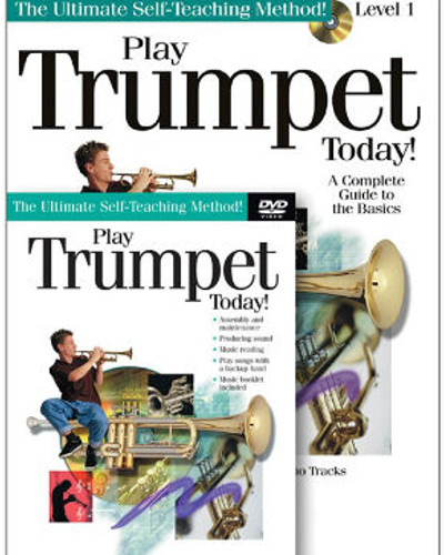 Play Trumpet Today Book and DVD/CD