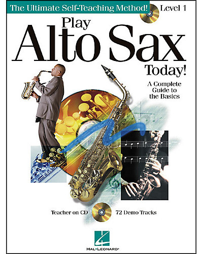 Play Alto Sax Today Book and CD