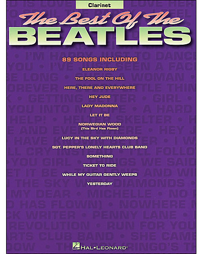 Best of the Beatles for Clarinet