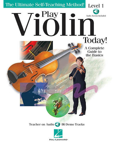 Play Violin Today Book and CD