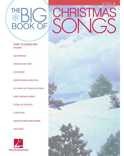 The Big Book of Christmas Songs for Viola