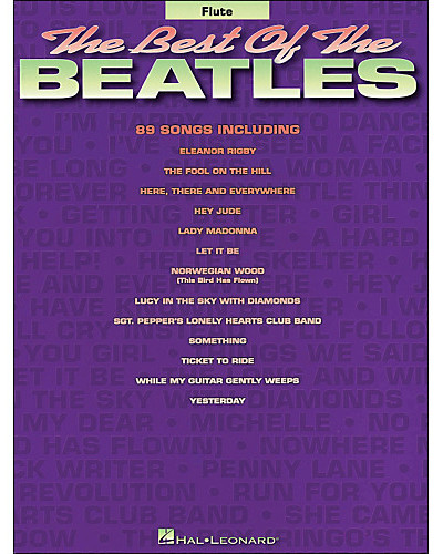 The Best of the Beatles for Flute