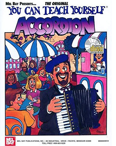 You Can Teach Yourself Accordion ( Piano ) Book